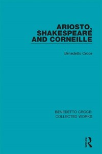 Cover Ariosto, Shakespeare and Corneille
