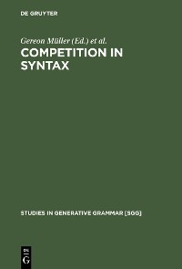 Cover Competition in Syntax