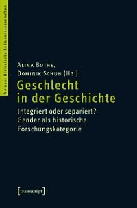 Cover Geschlecht in der Geschichte