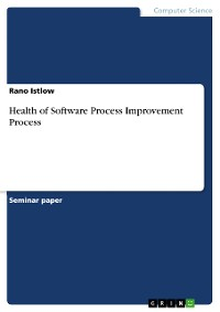 Cover Health of Software Process Improvement Process