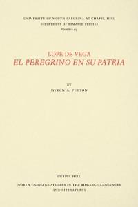 Cover Lope de Vega, El Peregrino en Su Patria