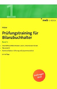 Cover Prüfungstraining für Bilanzbuchhalter, Band 1