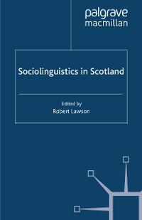 Cover Sociolinguistics in Scotland