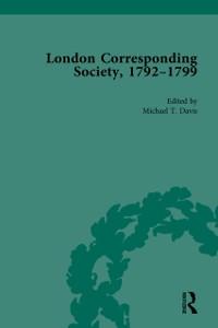 Cover London Corresponding Society, 1792-1799 Vol 3