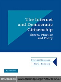 Cover The Internet and Democratic Citizenship