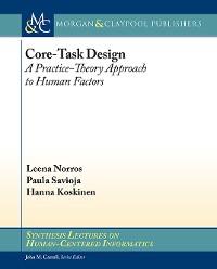 Cover Core-Task Design