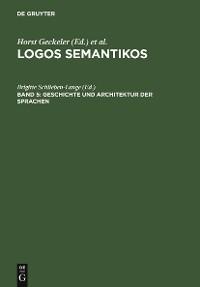 Cover Geschichte und Architektur der Sprachen