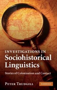 Cover Investigations in Sociohistorical Linguistics