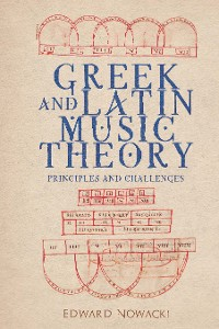 Cover Greek and Latin Music Theory
