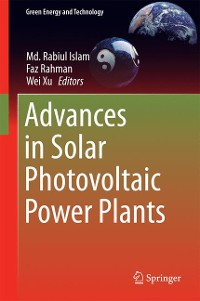 Cover Advances in Solar Photovoltaic Power Plants