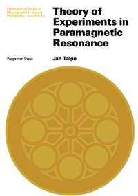Cover Theory of Experiments in Paramagnetic Resonance