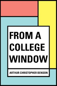 Cover From a College Window