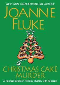 Cover Christmas Cake Murder