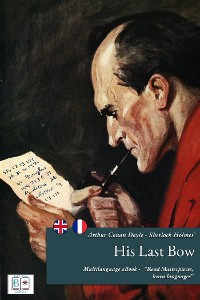 Cover Sherlock Holmes' His Last Bow - (English + French Version)