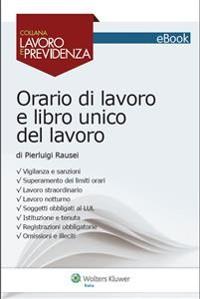 Cover Orario di lavoro e libro unico del lavoro