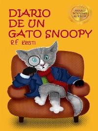 Cover Diario de un gato Snoopy