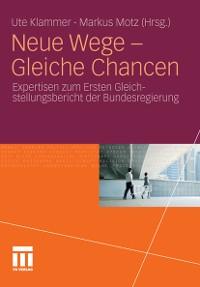 Cover Neue Wege - Gleiche Chancen