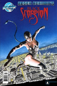 Cover Black Scorpion #4