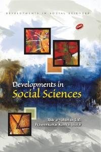 Cover Developments in Social Sciences