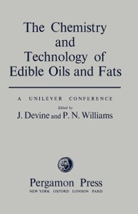 Cover Chemistry and Technology of Edible Oils and Fats