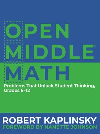 Cover Open Middle Math