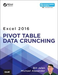 Cover Excel 2016 Pivot Table Data Crunching (includes Content Update Program)