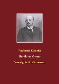 Cover Berühmte Geraer