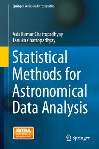 Cover Statistical Methods for Astronomical Data Analysis