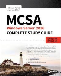 Cover MCSA Windows Server 2016 Complete Study Guide