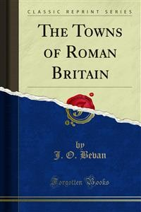 Cover The Towns of Roman Britain