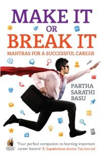 Cover Make it or Break it