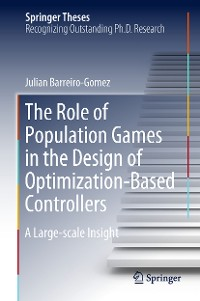 Cover The Role of Population Games in the Design of Optimization-Based Controllers