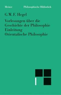 Cover Vorlesungen über die Geschichte der Philosophie