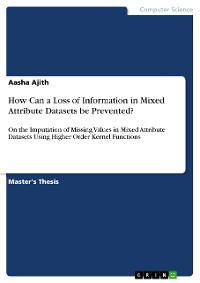 Cover How Can a Loss of Information in Mixed Attribute Datasets be Prevented?