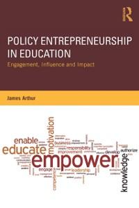 Cover Policy Entrepreneurship in Education