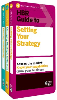 Cover HBR Guides to Building Your Strategic Skills Collection (3 Books)