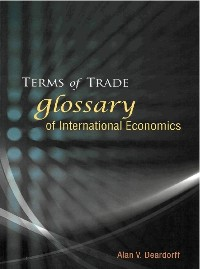 Cover Terms Of Trade: Glossary Of International Economics