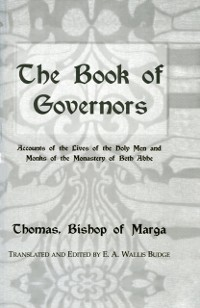 Cover Book Of Governors