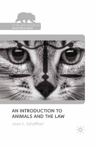 Cover An Introduction to Animals and the Law