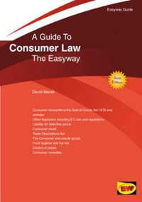 Cover Easyway Guide To Consumer Law