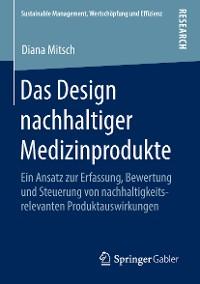 Cover Das Design nachhaltiger Medizinprodukte