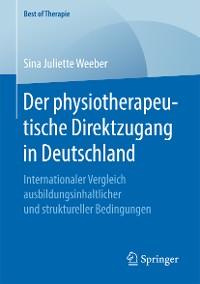 Cover Der physiotherapeutische Direktzugang in Deutschland