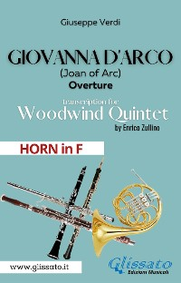 Cover Giovanna d'Arco - Woodwind Quintet (HORN in F)