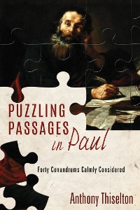 Cover Puzzling Passages in Paul