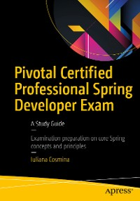 Cover Pivotal Certified Professional Spring Developer Exam