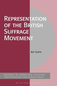 Cover Representation of the British Suffrage Movement
