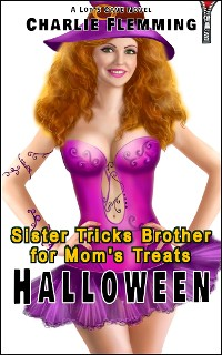 Cover Halloween: Sister Tricks Brother for Mom's Treats