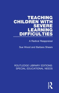 Cover Teaching Children with Severe Learning Difficulties