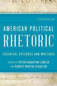 Cover American Political Rhetoric