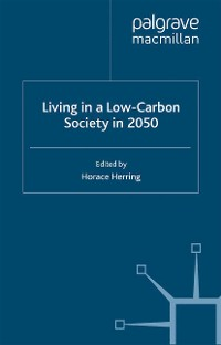 Cover Living in a Low-Carbon Society in 2050